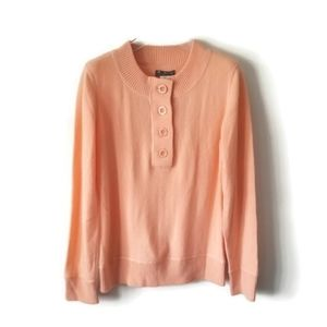 New Tommy Bahama sweater peach cashmere sz M